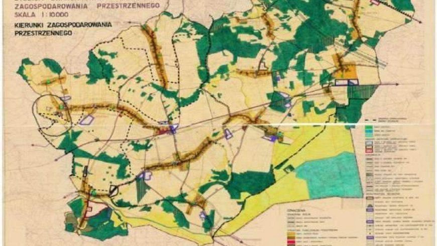 Informacja o pracach planistycznych w Gminie Niegosławice