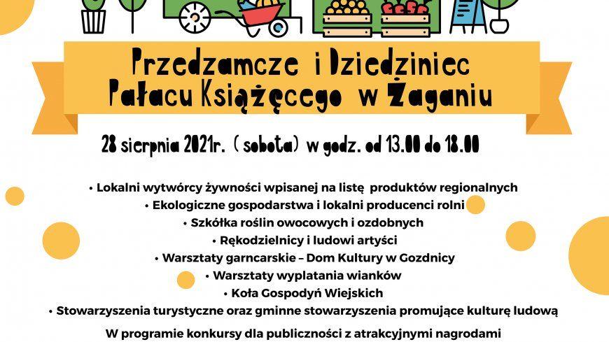 Zapraszamy do udziału w Eko-Targach w Powiecie Żagańskim !