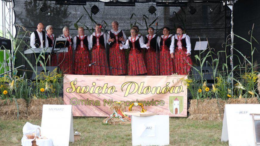 Dnia 22 sierpnia 2021 r.  w Gminie Niegosławice odbyło się Gminne Święto Plonów