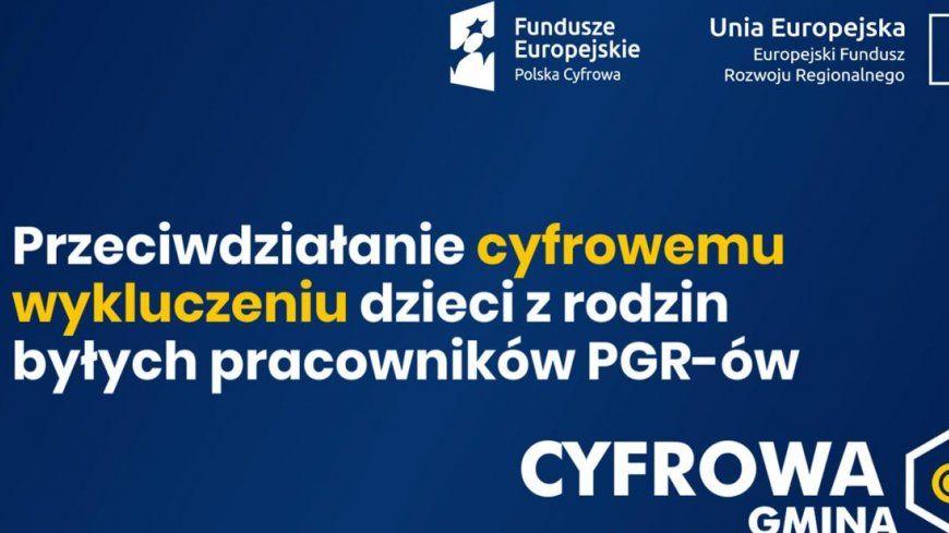 Granty PPGR – Wsparcie dzieci z rodzin pegeerowskich w rozwoju cyfrowym